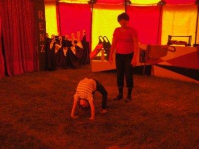 Foto zur Meldung: Zirkusprojekt Renz im OT Frose