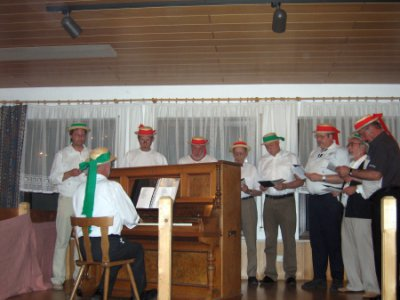 Foto zur Meldung: Der Familienabend der Ortsvereine 2007