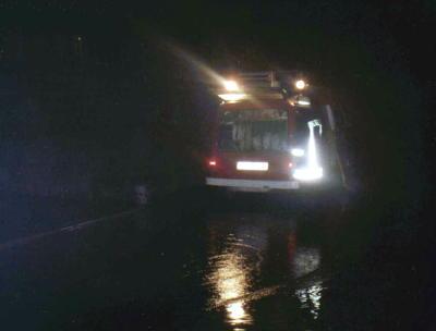 Foto zur Meldung: Januar 2003 - Unwetter mit Überschwemmungen in der Region