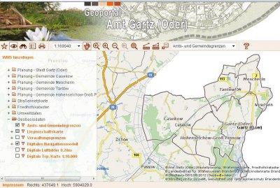 Vorschaubild zur Meldung: Service: Kartenmaterial und Geodaten