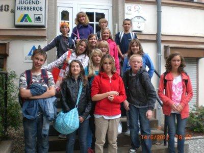 Foto zur Meldung: Unsere Abschlussfahrt nach Halle