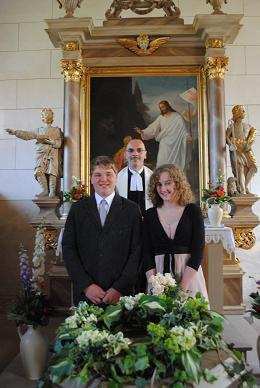 Foto zur Meldung: Konfirmation 2012