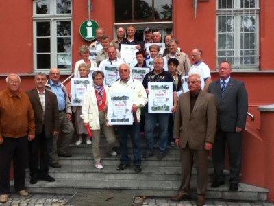 """Foto zu Meldung: Auszeichnung der """"Schönsten Gartenparzellen"""" 2012"""