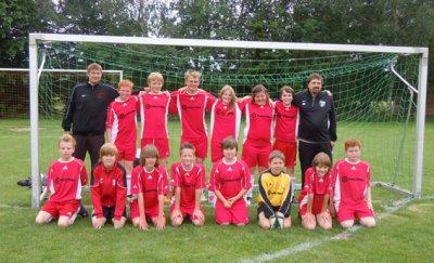 Foto zur Meldung: D-Junioren des FC Hevesen  ist Staffelsieger der Aufbauklasse Süd