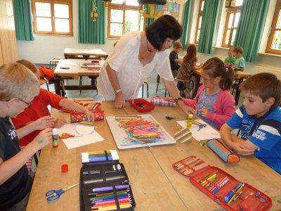 Foto zur Meldung: Vorgezogener Schultag für die Vorschulkinder
