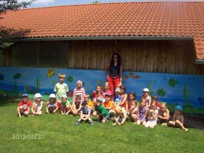 Foto zur Meldung: Erster Kneipp-Familientag im Kindergarten