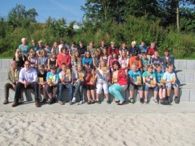 Foto zur Meldung: Großes Engagement der Schülerinnen und Schüler der sechsten Klassen