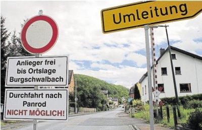 Foto zur Meldung: Ortsgemeinde: Umleitung: Feldweg wird noch in dieser Woche geteert