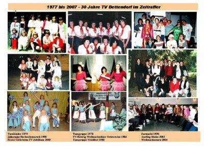 Foto zur Meldung: 2007 - TV Chronik über 3 Jahrzehnte Vereinsgeschichte