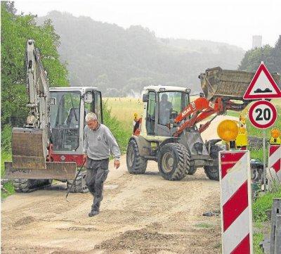 Foto zur Meldung: Ortsgemeinde: Ausweichroute in Burgschwalbach wird befestigt