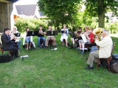 Foto zur Meldung: Gemeindefest im OT Nachterstedt