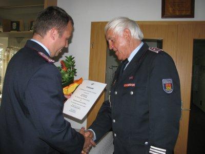 Foto zu Meldung: 30 Jahre Mitgliedschaft in der FF Putbus