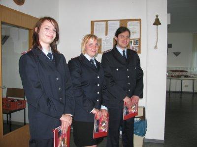 Foto zu Meldung: Verabschiedung von Mitgliedern der FF Putbus