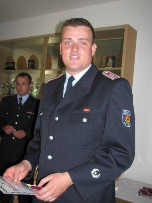 Foto zu Meldung: Beförderung zum Oberlöschmeister