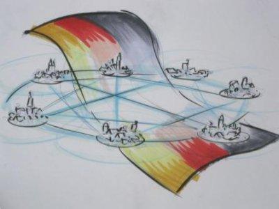 Foto zur Meldung: Dorfbewegung in Deutschland - Anmeldevordruck für Dörfer