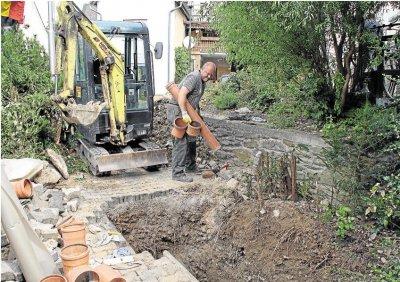 Foto zur Meldung: Ortsgemeinde: Wasserschaden am Dorfgemeinschaftshaus