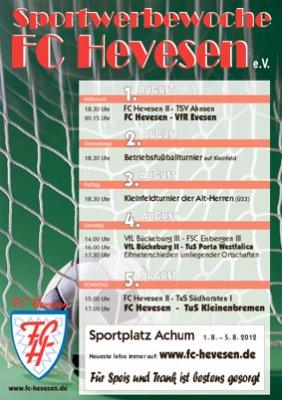 Foto zur Meldung: Sportwerbewoche FC Hevesen