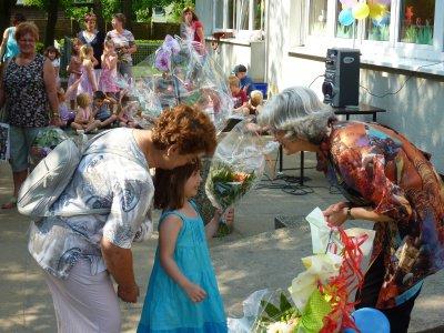 Foto zu Meldung: Danke - Blumen - Umarmungen - Kinderlieder -  ....