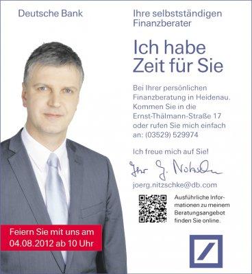 Foto zur Meldung: Finanzagentur Jörg Nitzschke