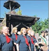 Foto zur Meldung: Chor besingt das Schwarze Gold