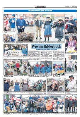 Foto zur Meldung: Rückersfest 2006 in Laisa