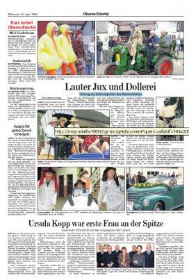Foto zur Meldung: Lauter Jux und Dollerei