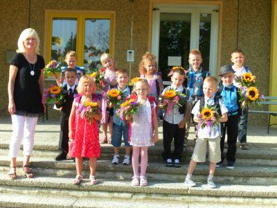 Foto zur Meldung: Schulanfang 2012