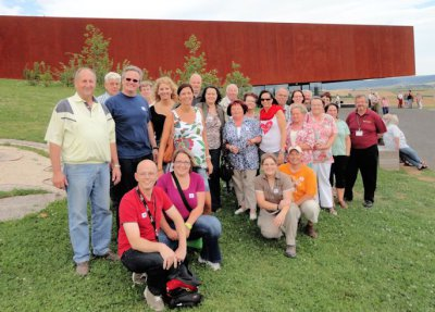 Foto zur Meldung: Gesangverein Wenings besucht Keltenmuseum