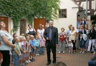 """Vorschaubild zur Meldung: Erzieherin Regina Friedrich: """"Ich hab richtig Herzklopfen"""""""