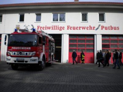 Foto zu Meldung: Mitgliederwerbung bei der FF Putbus