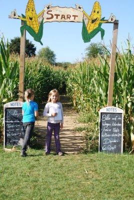 Foto zur Meldung: Ausflug zum Maislabyrinth