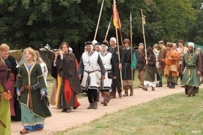 Foto zur Meldung: Gelungenes Mittelalterfest auf Burg Ziesar