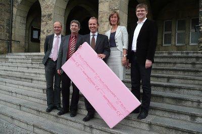 Foto zur Meldung: Austrotherm will mit 40 Mio.-Investition in Dämmstoffwerk 70 Arbeitsplätze schaffen