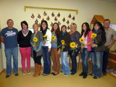 Foto zur Meldung: Im Kindergarten St. Johannes wurde ein neuer Elternbeirat gewählt