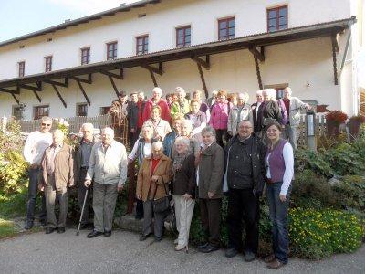 Foto zur Meldung: Die Senioren in Waldeck im Lamer Winkel
