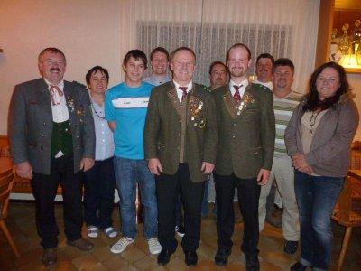 Foto zu Meldung: Generalversammlung der Edelweißschützen – Rückblick und Neuwahlen – Viel Lob vom Gau
