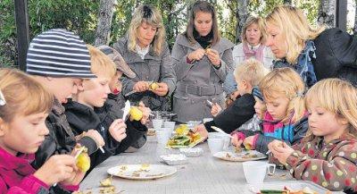"""Foto zu Meldung: Selbstgeerntete Pellkartoffeln schmecken einfach """"nach mehr"""""""