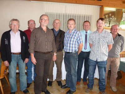 Foto zur Meldung: Reservisten wählten bewährten Vorstand