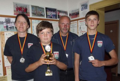 Foto zur Meldung: Angelverein Brüssow  erfolgreich bei Kreismeisterschaften im Casting
