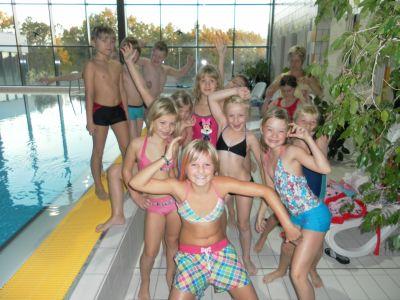 Foto zur Meldung: Schwimmlehrgang in Gröditz mit Klasse 3