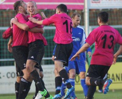 Foto zu Meldung: Landesliga: SV Mitterteich - FC Vorwärts 0:1 (0:0)
