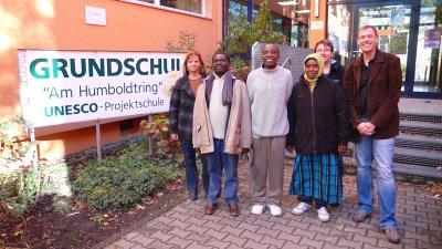 Foto zur Meldung: Besuch aus Sansibar