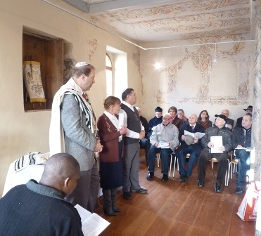 Vorschaubild zur Meldung: Erstmals wieder jüdischer Gottesdienst in der Synagoge Odenbach