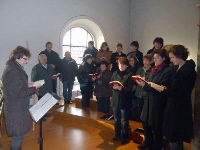 Foto zur Meldung: Christkönigsfest und Cäcilienfeier mit herrlichen Stimmen
