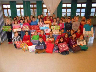 Foto zur Meldung: Humedica – Geschenke mit Herz für Kinder in Osteuropa