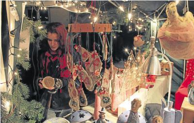 Foto zur Meldung: Ortsgemeinde: Ein Markt mit besonderer Atmosphäre
