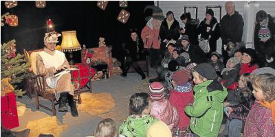 Foto zur Meldung: Ortsgemeinde: Weihnachtsmarkt Tausende Besucher in Burgschwalbach