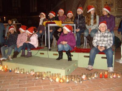 Foto zur Meldung: Wilsnacker Chöre gestalten den Auftakt zum diesjährigen Weihnachtsmarkt