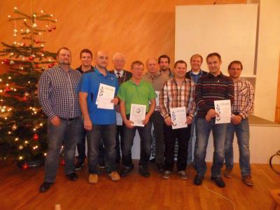 Foto zur Meldung: Jahresabschlussfeier beim Sportverein – Nur als Gemeinschaft ist ein Verein stark
