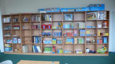 Foto zur Meldung: Sammlung für unsere Schulbibliothek und Spielzimmer